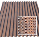 perforated corten azp raw